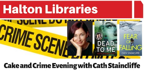 Cake and Crime Evening with author Cath Staincliffe tickets