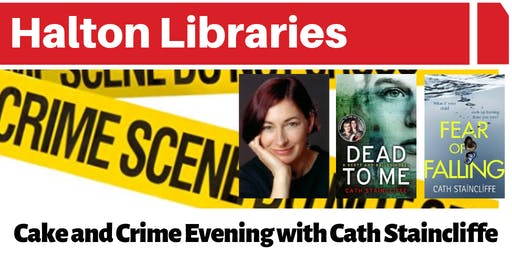 Cake and Crime Evening with author Cath Staincliffe