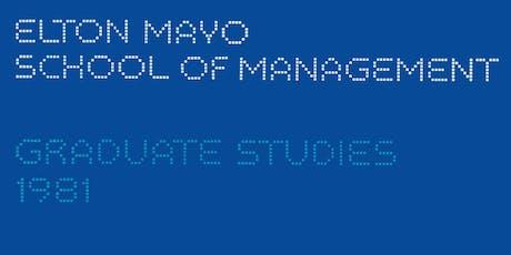 Elton Mayo School of Management 40th Anniversary Staff Reunion tickets