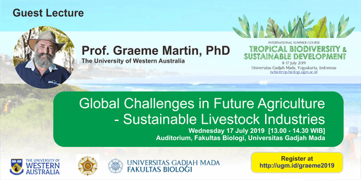 [Guest Lecture] Global Challenges in Future Agriculture