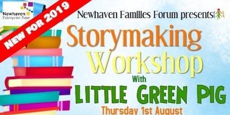 Little Green Pig: Story Making Workshop tickets