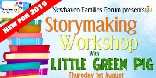 Little Green Pig: Story Making Workshop