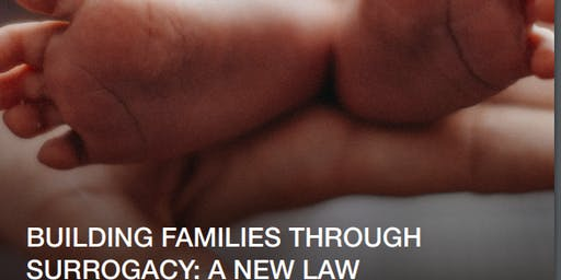 """Building families through surrogacy: a new law"" Edinburgh event"