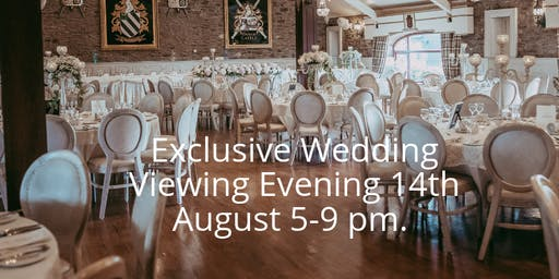 Exclusive Wedding Viewing Evening