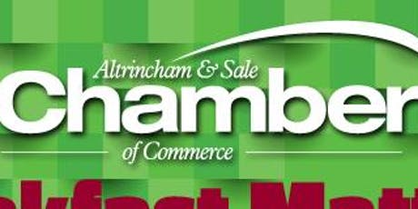 Chamber Breakfast - Altrincham & Sale Independent Chamber Breakfast Matters tickets