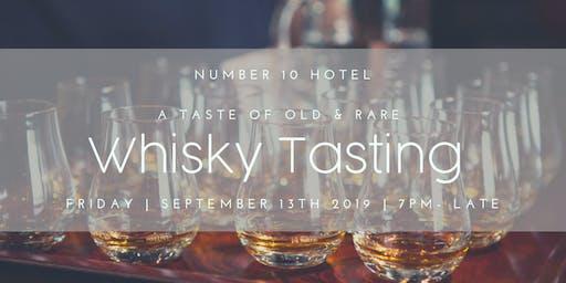 A Taste of Old & Rare Whisky