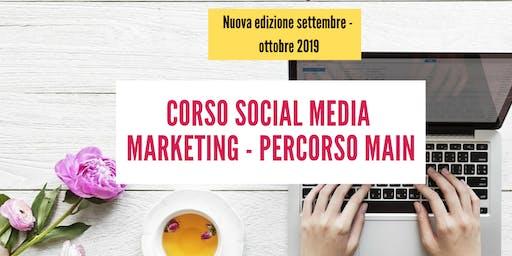 Corso Social Media Marketing - Percorso Main