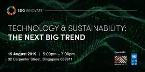 SDG Innovate: Technology & Sustainability – The Next...