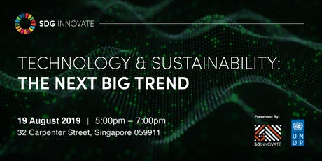 SDG Innovate: Technology & Sustainability – The Next Big Trend tickets