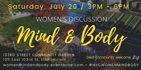 Women's Discussion: Mind & Body tickets
