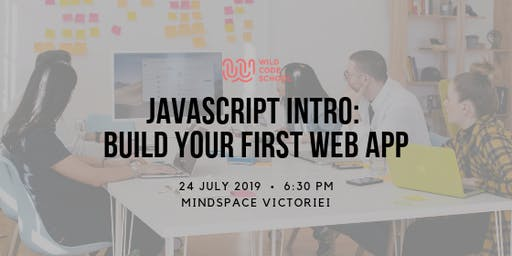 JavaScript Intro - How to build your first web app
