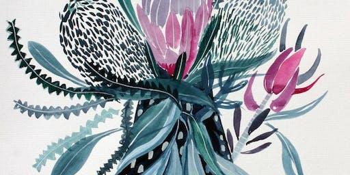 Banksia Vase - Art Class