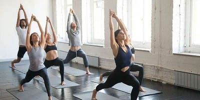 Stretch into the weekend.. Free Yoga @ The Plaza