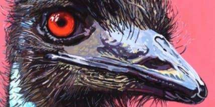 Emused Emu Eddie - Art Class