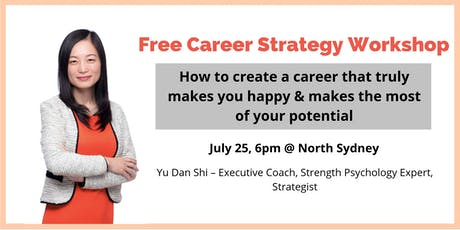 Workshop - How to create a fulfilling career tickets
