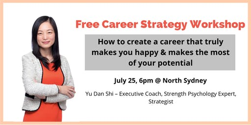 Free Workshop - How to create a fulfilling career