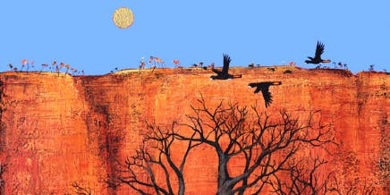 Boabs & Black Cockatoos - Art Class
