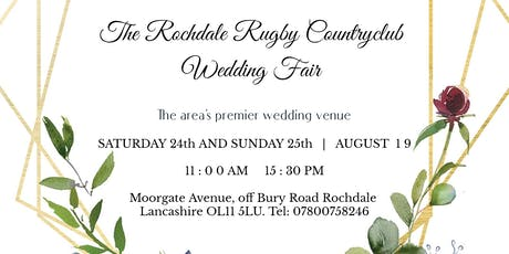 Wedding Fair at the Rochdale Rugby Clubhouse tickets