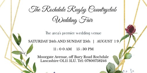 Wedding Fair at the Rochdale Rugby Clubhouse