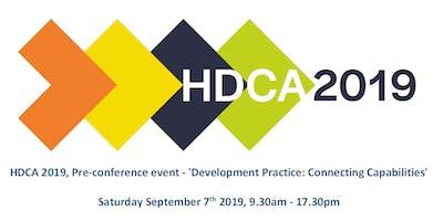 HDCA 2019 Pre-conference event: 'Development Practice: Connecting Capabilities'