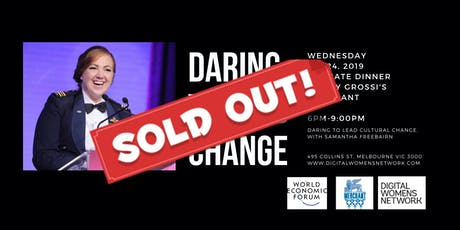 Dare to lead change tickets