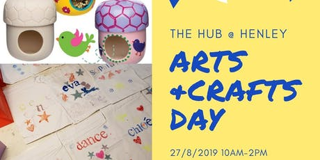 Summer Crafts and Lunch at The Hub tickets