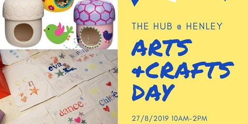 Summer Crafts and Lunch at The Hub