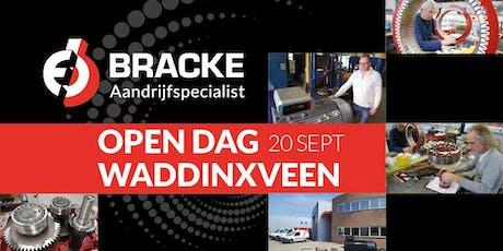 OPEN DAG BRACKE Aandrijfspecialist, Waddinxveen tickets