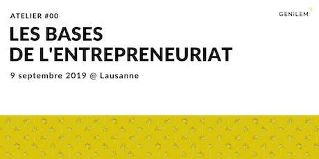 Les bases de l'entrepreneuriat billets