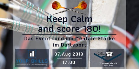 Keep Calm and score 180! Tickets