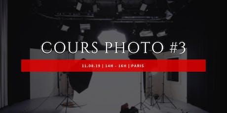 #3 Cours photo avec une photographe professionnelle billets