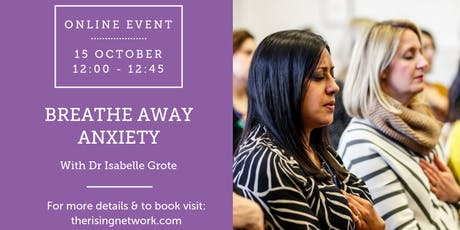 ONLINE EVENT: Breathe Away Anxiety tickets