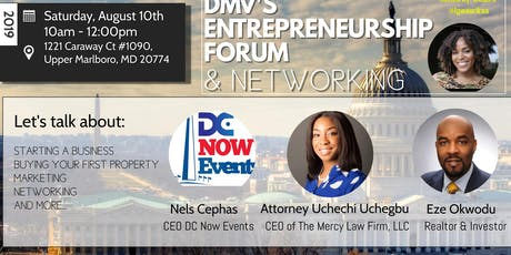 DMV's Entrepreneurship Forum & Networking  tickets