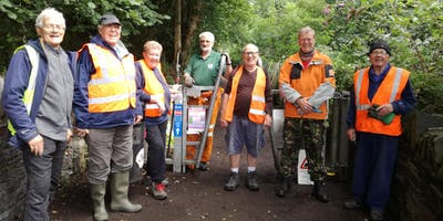 Workday on the Garw Valley Community Path