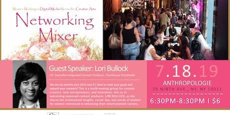 Women Working in Digital Media meets The Creative Arts Networking Mixer tickets