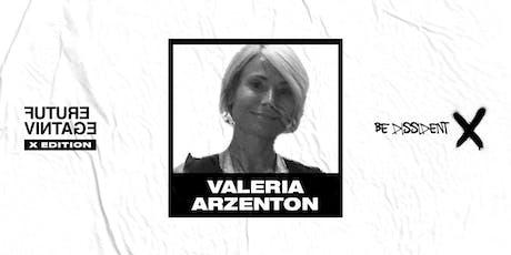 VALERIA ARZENTON // Future Vintage Festival 2019 tickets