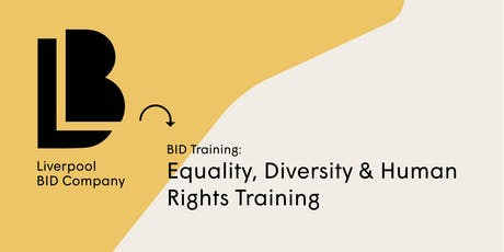 BID Training - Equality, Diversity & Human Rights Training tickets