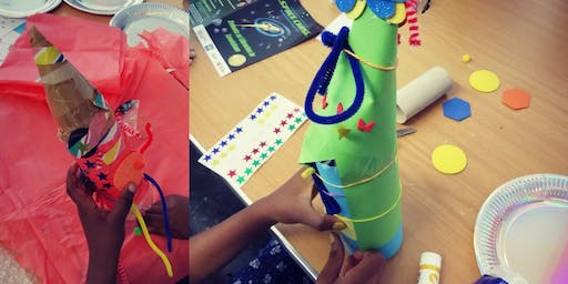 Space Chase Craft sessions @DownhamLibrary