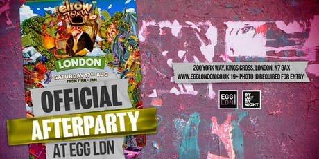 Elrow Town Official After Party: EGG LDN - Line up TBA tickets