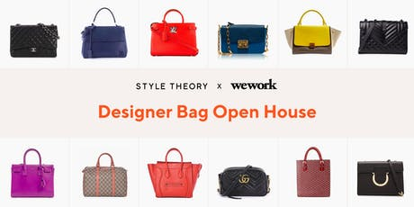 Style Theory x WeWork: Designer Bag Open House tickets