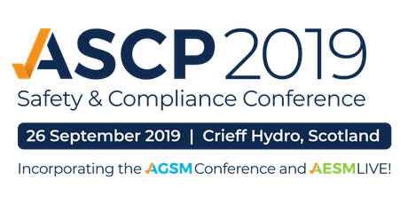 ASCP Scotland Safety & Compliance Conference 2019 tickets