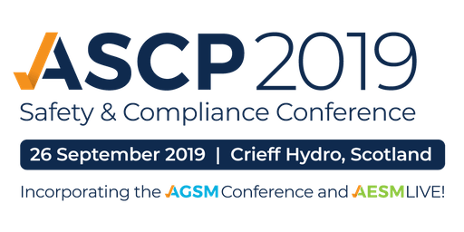 ASCP Scotland Safety & Compliance Conference 2019