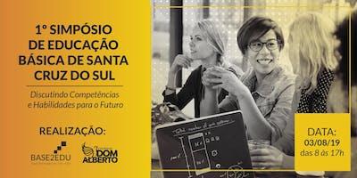 I SIMPÓSIO DE EDUCAÇÃO BÁSICA DE SANTA CRUZ DO SUL