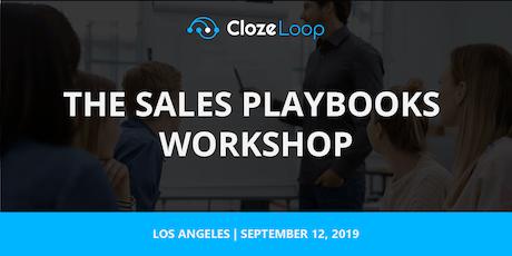 The Sales Playbooks Workshop Los Angeles tickets