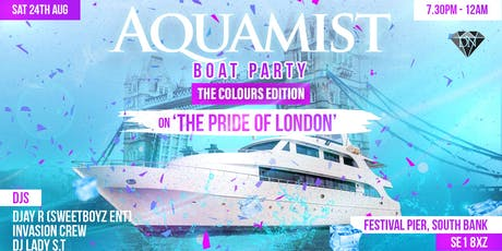 AQUAMIST BOAT PARTY - COLOURS EDITION tickets