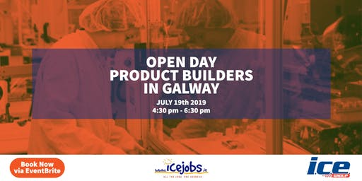 Open Day | Product Builder Jobs in Galway