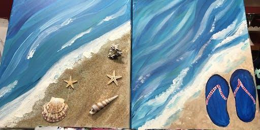 Kid's Beach Sip & Paint