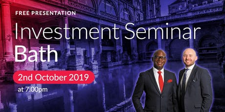 Bath Investment Seminar on Buy2LetCars tickets