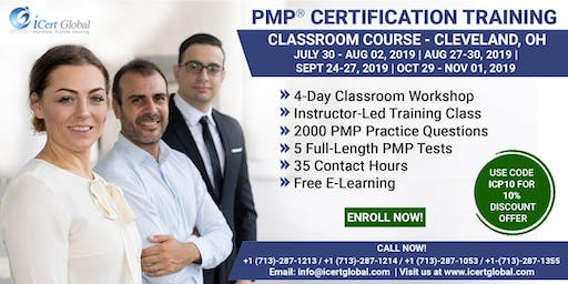 PMP (Project Management) Certification Training in Cleveland, OH, USA | 4-Day (PMP) Boot Camp