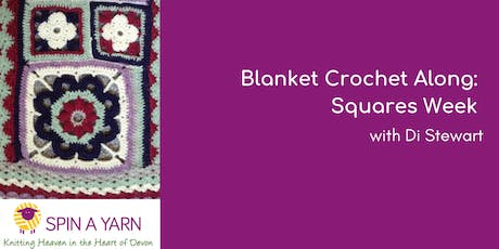 Blanket Crochet Along: Squares Week - with Di Stewart tickets